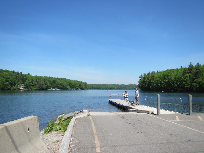 "Boston Kayaker: Kayaking on Asnacomet Pond - a.k.a. ""Comet ..."