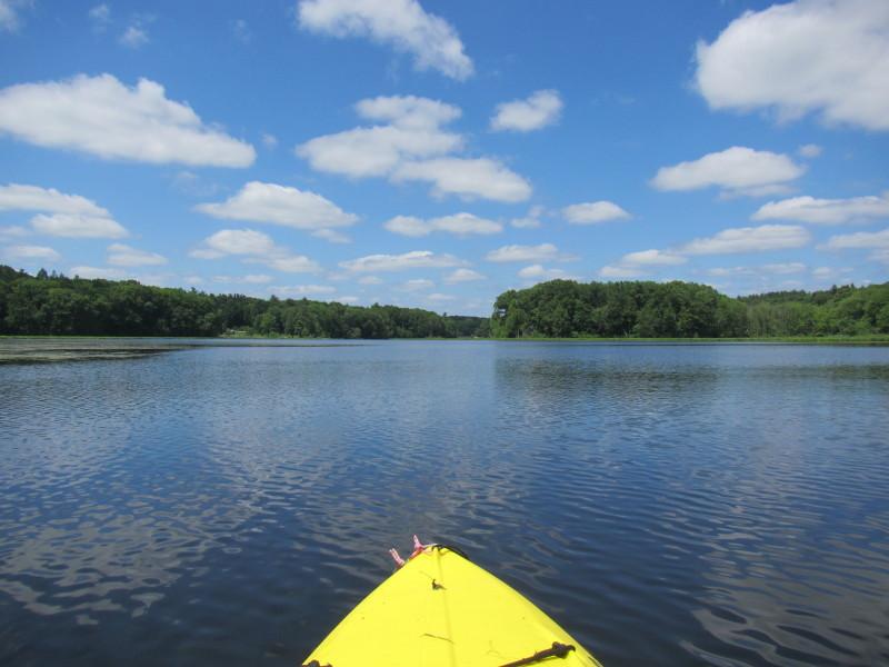 North Point Ford >> Boston Kayaker: Kayaking on Mumford River and Lackey Pond ...