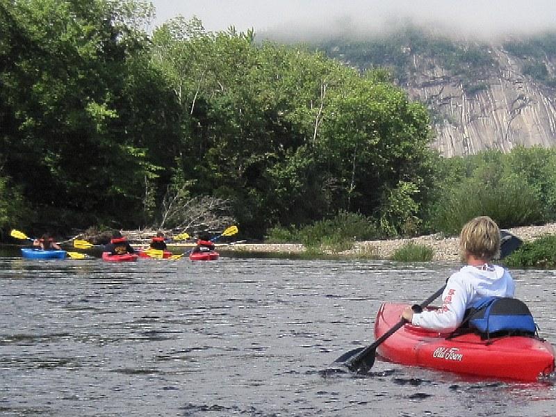 Boston Kayaker: Kayaking on Saco River - from Bartlett NH to